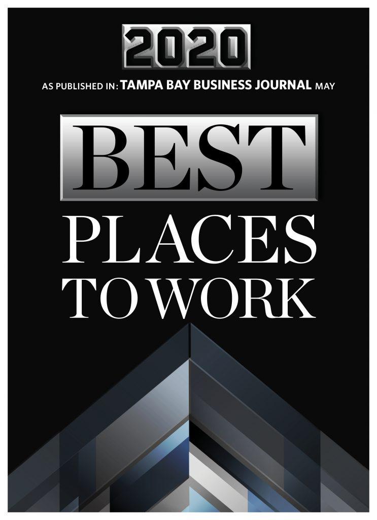 Tampa Bay Business Journal's 2020 Best Places to Work