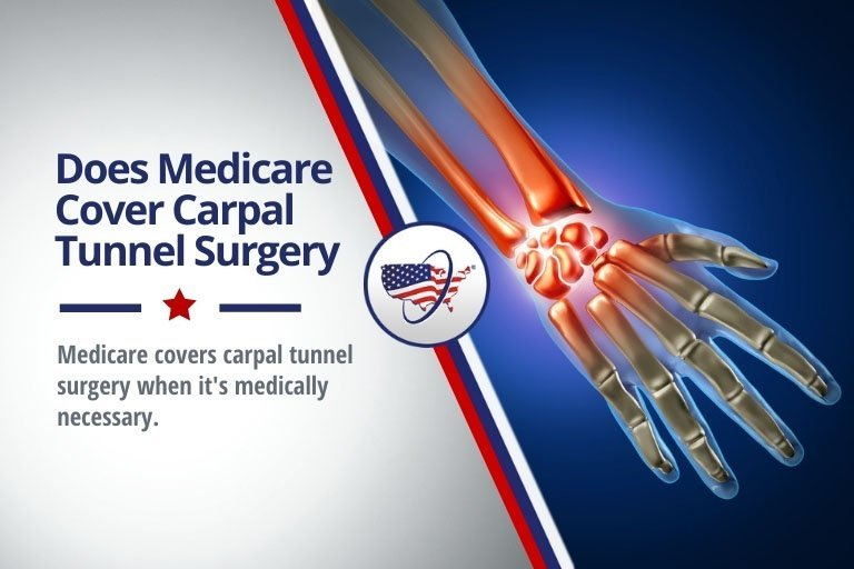 Medicare can cover carpal tunnel syndrome surgery