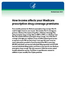Download Guide: How Income Affects Your Medicare Prescription Drug Coverage Premiums
