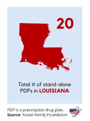 Part D Plans in Louisiana