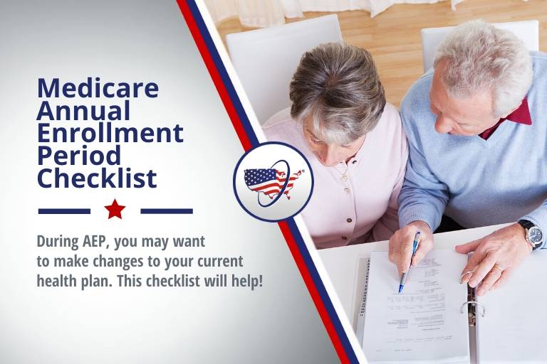 Medicare Annual Enrollment Period (AEP) Checklist