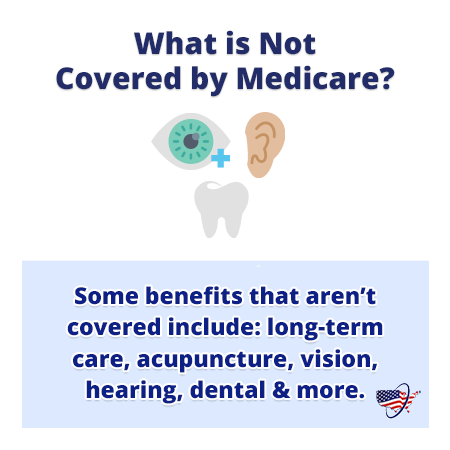 What is Not Covered by Medicare