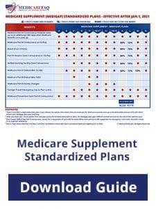 Download Guide: Medicare Supplement Standardized Plans